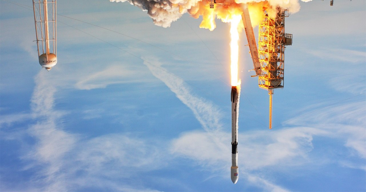 SpaceX снова не смог запустить спутники Starlink