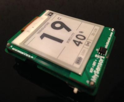 Ардуино термометр & гигрометр с E-PAPER на nRF52832 — или о том, что забыли выпустить производители - 1