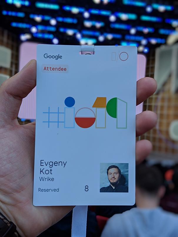 Главный секрет Google I-O 2019, о котором не узнать из интернета - 1