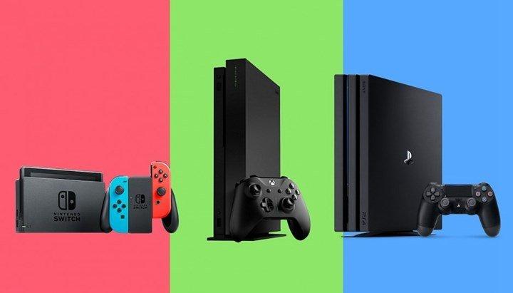 Продажи игровых консолей поднялись на самый высокий уровень за последние десять лет
