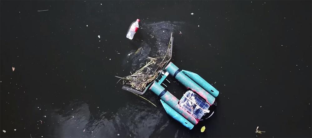 Сила толпы. Как в Чикаго разработали мусороедного робота – очистителя рек - 1