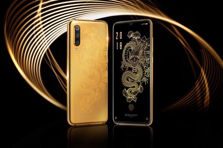 Золотой Xiaomi Mi 9 оказался… золотым чехлом для Xiaomi Mi 9