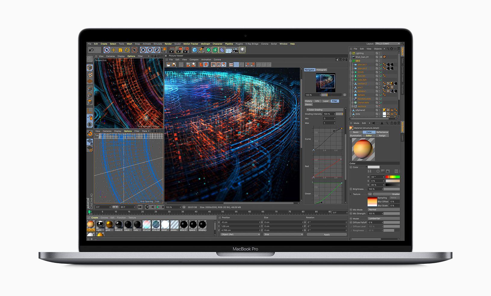 Apple представила первый 8-ядерный MacBook Pro и исправила клавиатуру «бабочка» - 1
