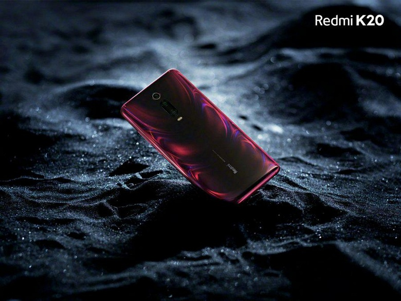 Флагманский смартфон Redmi K20 показался на первых официальных изображениях в четырёх переливающихся цветах