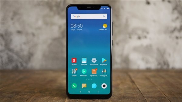 Обновление MIUI 10 улучшает работу экрана смартфона Xiaomi Mi 8