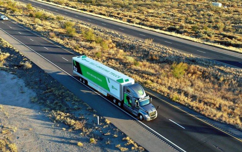 Почтовая служба США начала тестирование доставки с использованием самоуправляемых грузовиков TuSimple