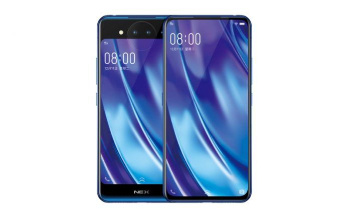 Смартфон Vivo NEX 2 с революционным дизайном представят совсем скоро