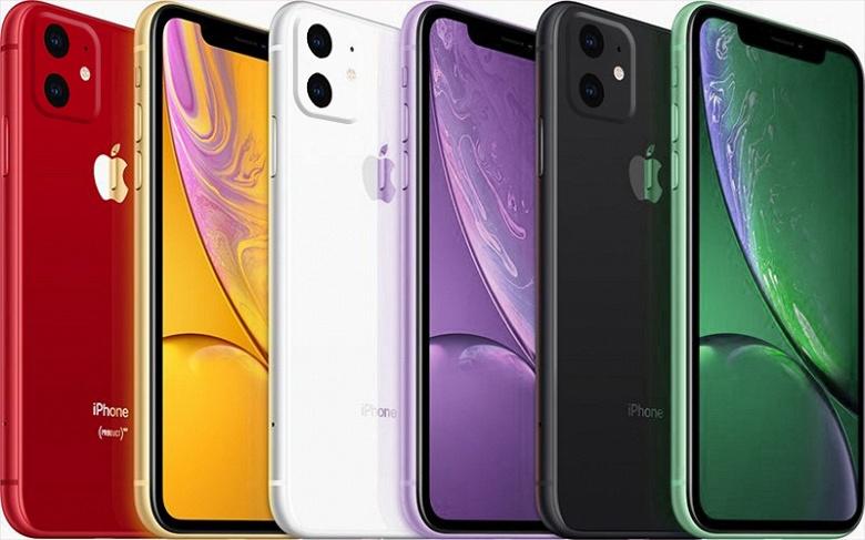 Apple зарегистрировала в России одиннадцать новых iPhone