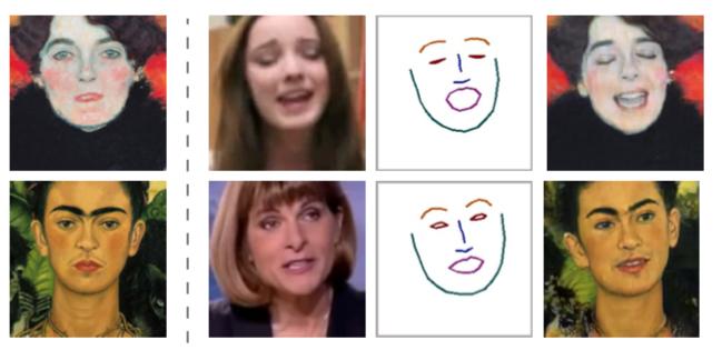 Разработка российской команды реалистично анимирует лица по одному кадру - 1