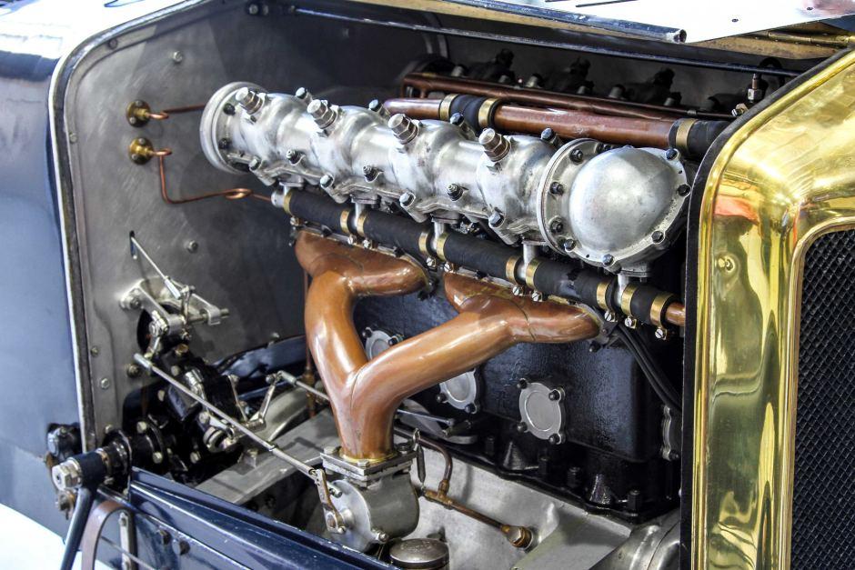 С помощью 3D-принтера удалось сохранить автомобиль участвовавший в Гран-при 1914 - 2