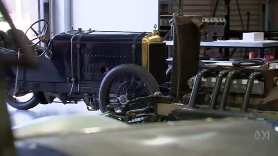 С помощью 3D-принтера удалось сохранить автомобиль участвовавший в Гран-при 1914 - 1