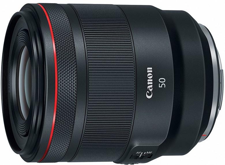За дополнительную плату Canon делает бесшумным кольцо управления объективов RF