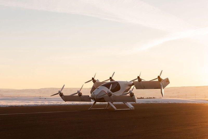 Airbus показал салон своего аэротакси - 4