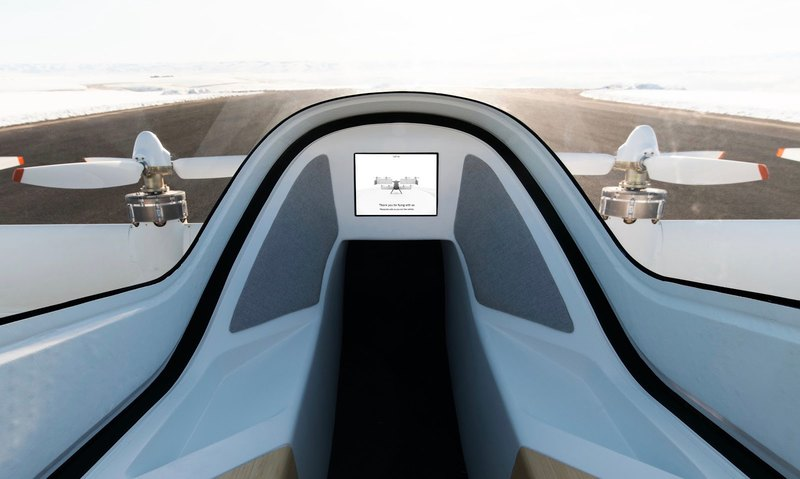 Airbus показал салон своего аэротакси - 5