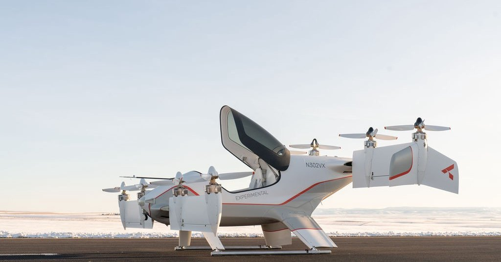 Airbus показал салон своего аэротакси