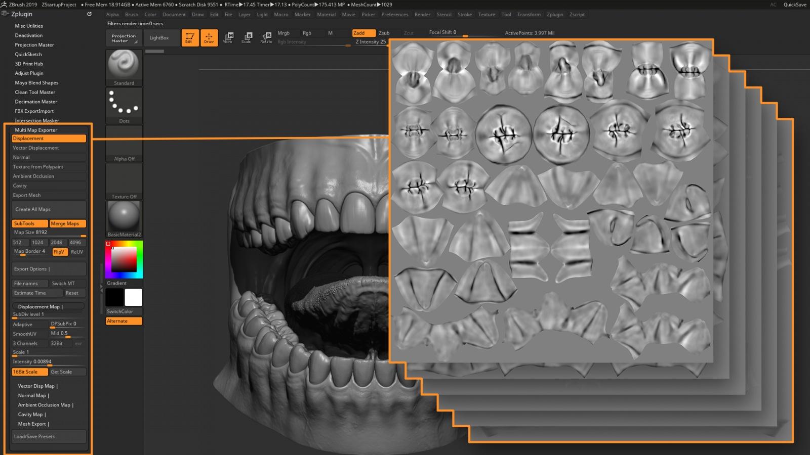 Искусство создания органических 3D-моделей: субдермальные шейдеры - 11