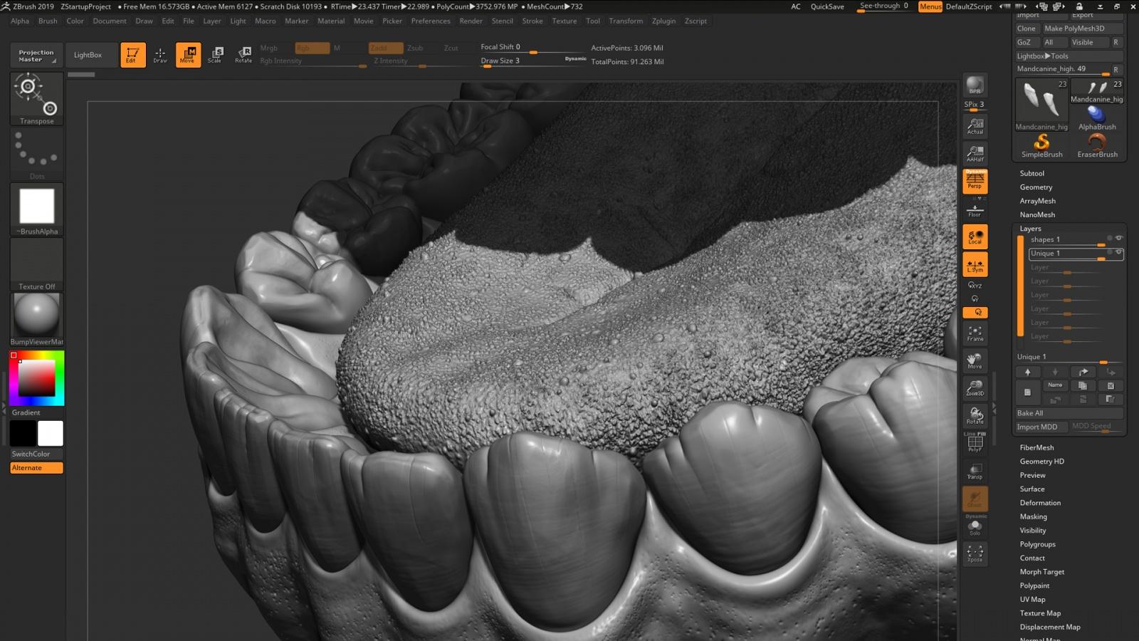 Искусство создания органических 3D-моделей: субдермальные шейдеры - 4