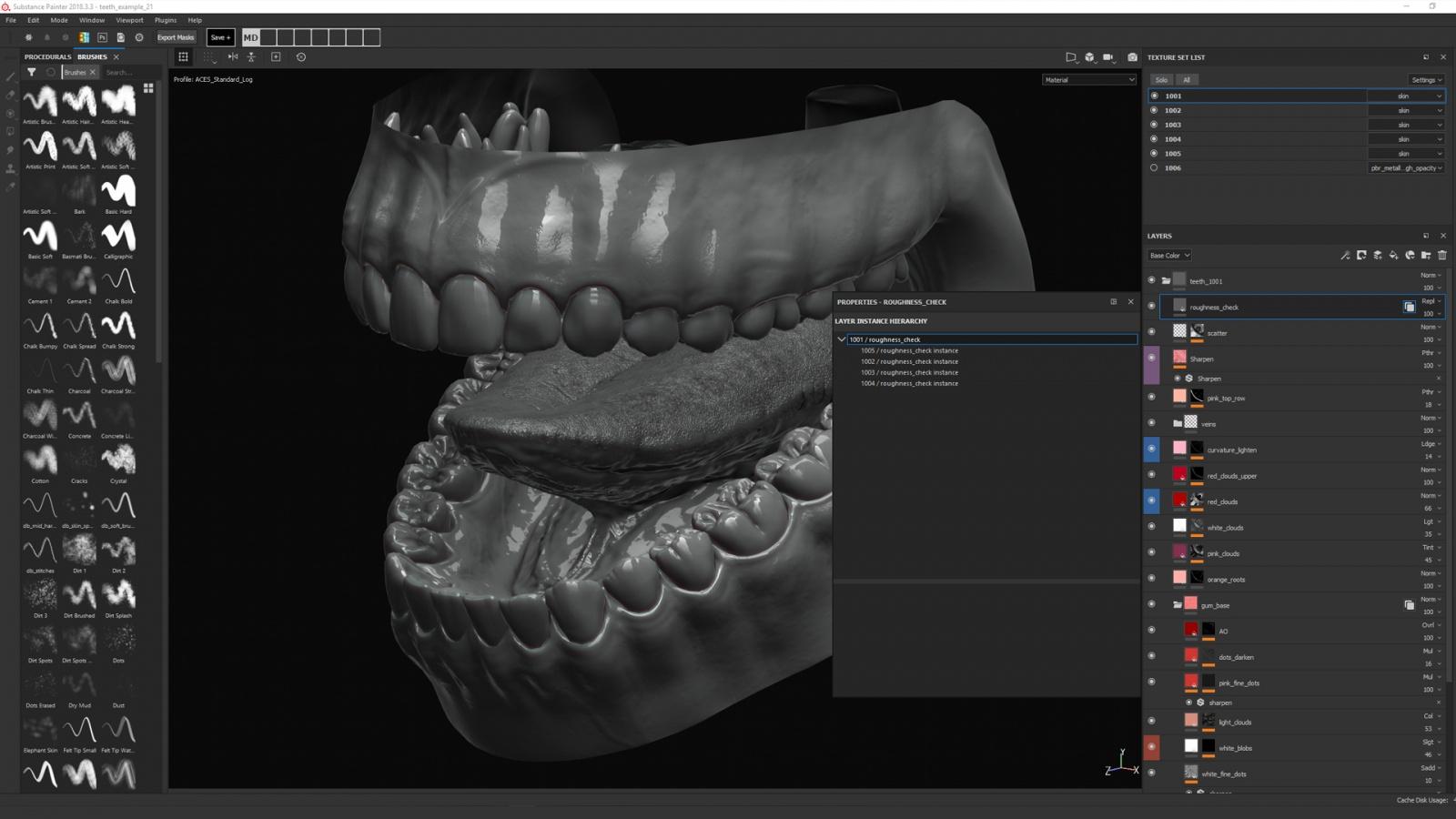 Искусство создания органических 3D-моделей: субдермальные шейдеры - 9