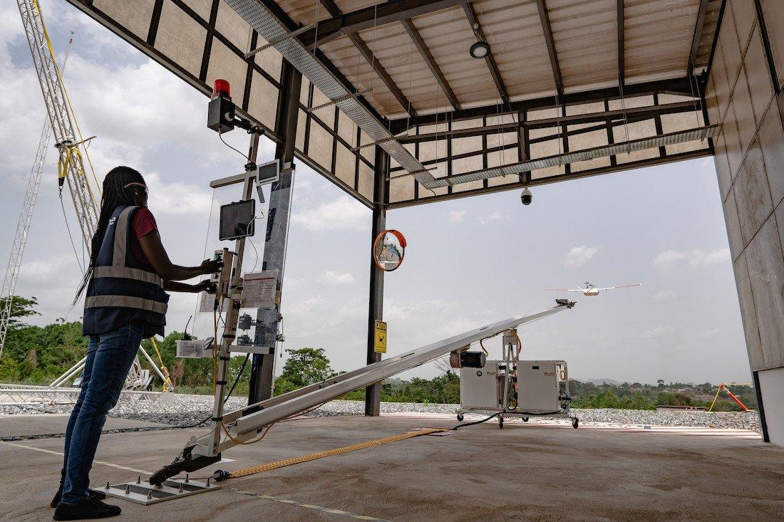 Как дроны в Гане доставляют жизненно важные лекарства - 3