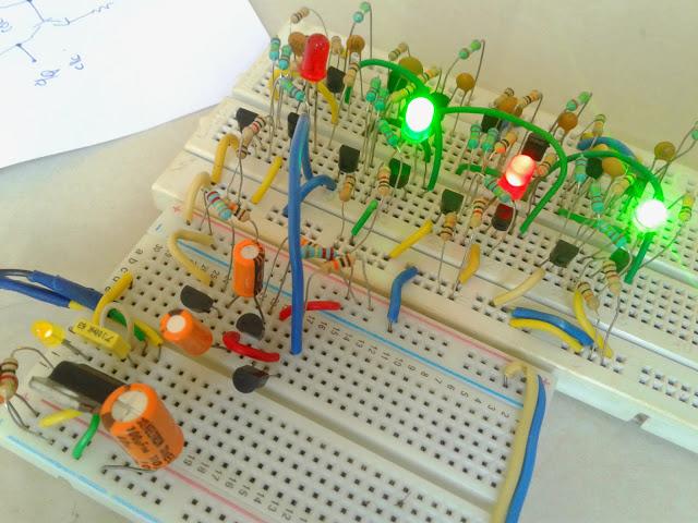 4-битный BCD-счётчик - 1