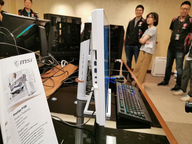 MSI показала новейший монитор PS341WU: диагональ 34 дюйма, разрешение 5120 x 2160 пикселей, HDR600 и охват 98% цветового пространства DCI-P3