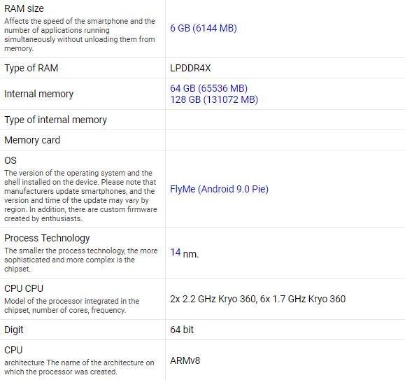 Meizu 16Xs рассекречен целиком за четыре дня до официальной премьеры