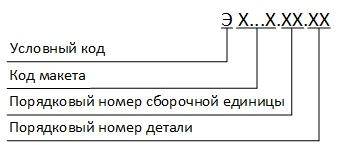 Обозначение эскизных конструкторских документов
