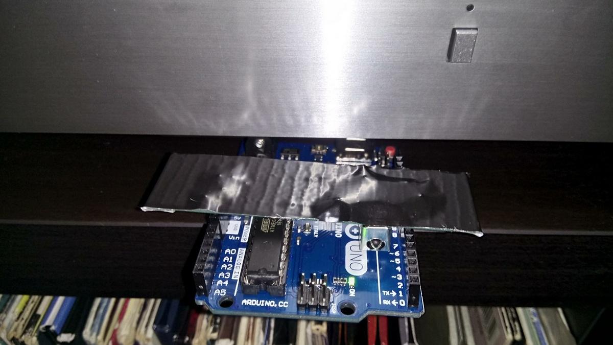 Управление компьютером через ПДУ от усилителя с помощью Arduino и Node.js - 14