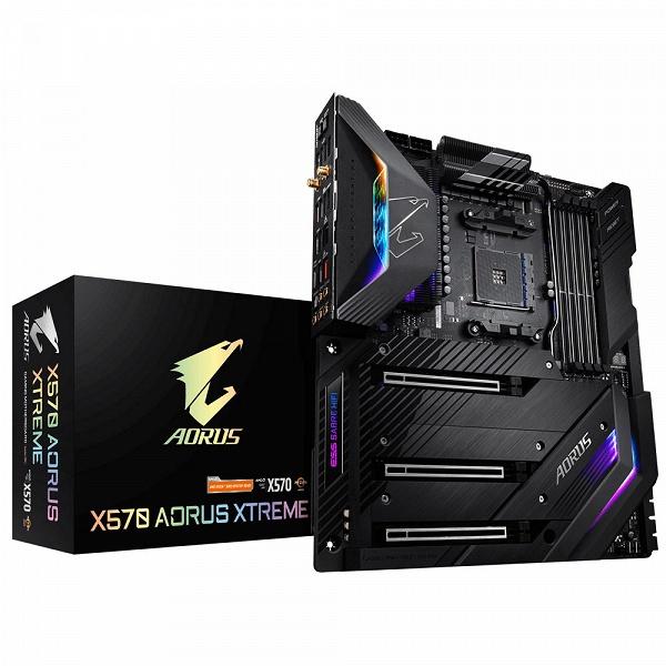 Gigabyte объявляет о выпуске системных плат X570 Aorus с поддержкой PCIe 4.0