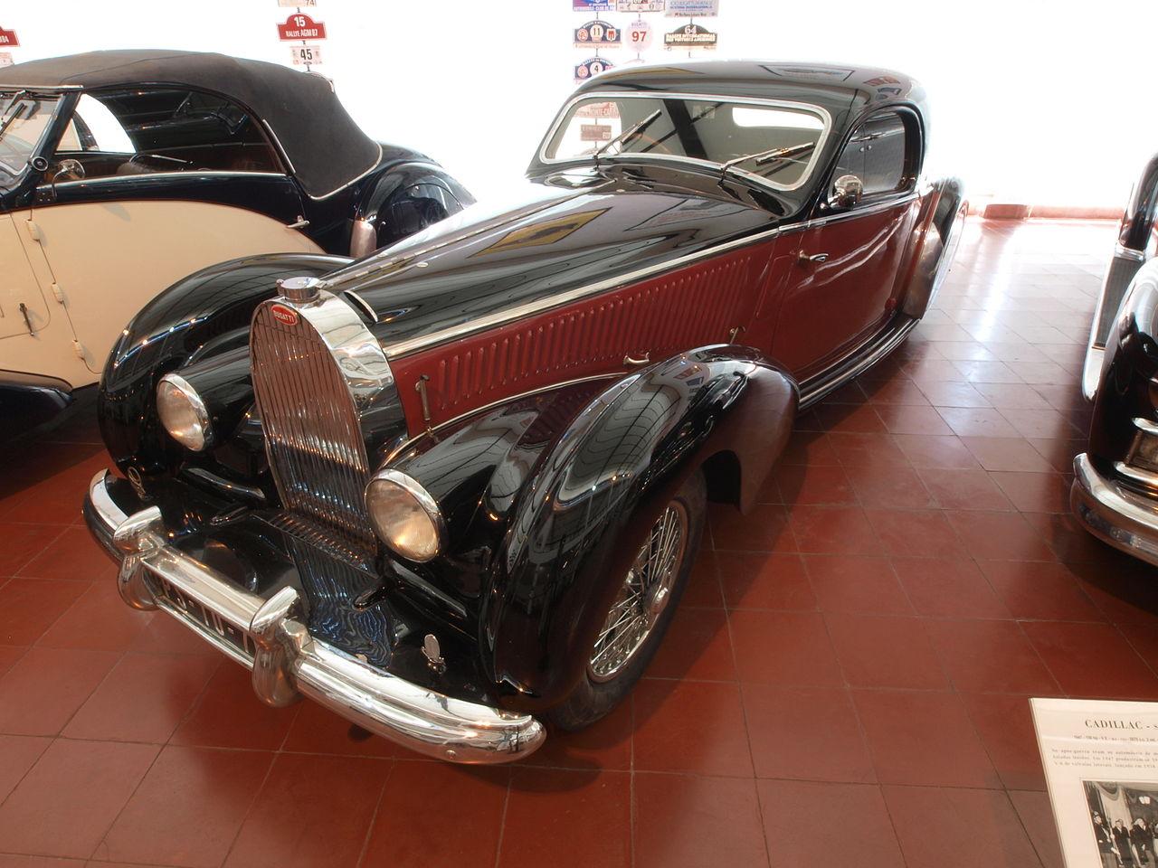 Bugatti Type 57 единичный высококлассный автомобиль для богатых.