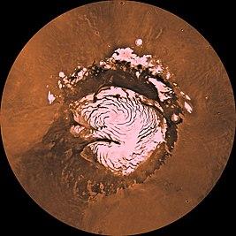 Марс — еще больше льда в районе северного полюса, но глубоко - 10