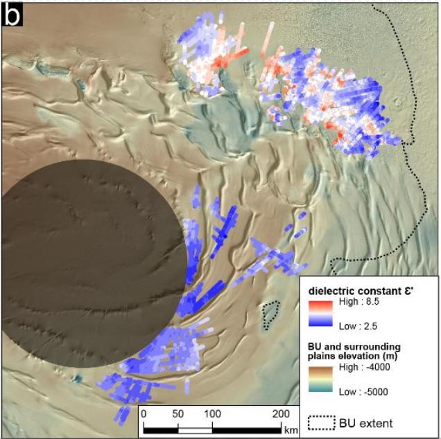 Марс — еще больше льда в районе северного полюса, но глубоко - 12