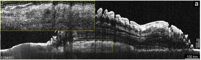Марс — еще больше льда в районе северного полюса, но глубоко - 14