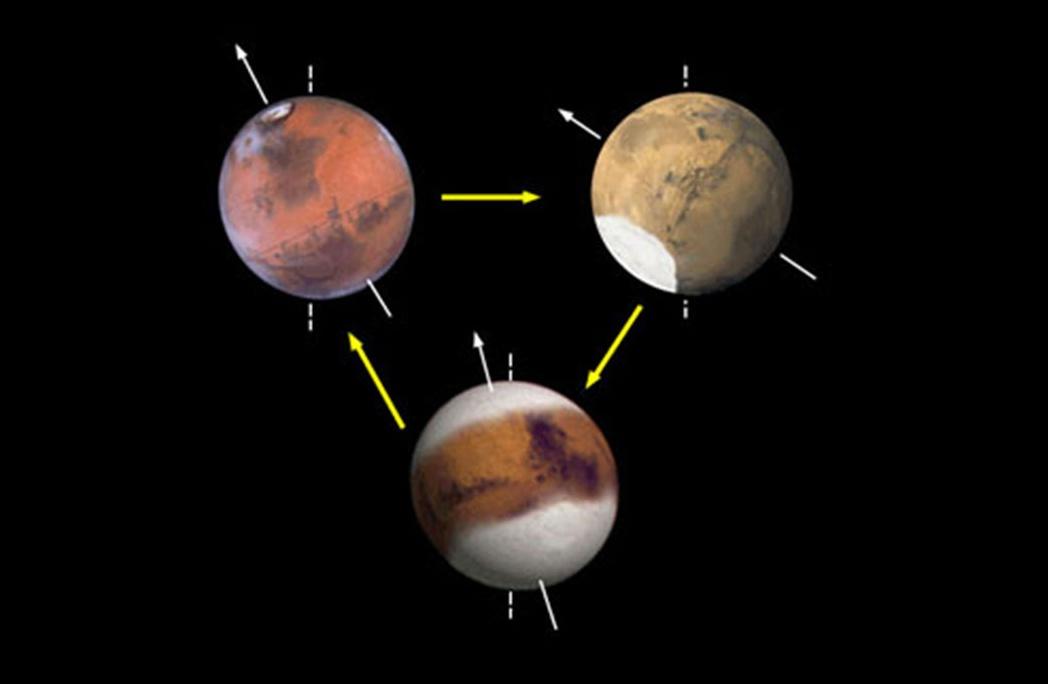 Марс — еще больше льда в районе северного полюса, но глубоко - 8