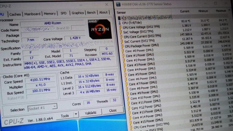 На Computex 2019 показали флагманский 16-ядерный процессор AMD семейства Ryzen 3000, он обходит по производительности 24-ядерный Threadripper 2970X