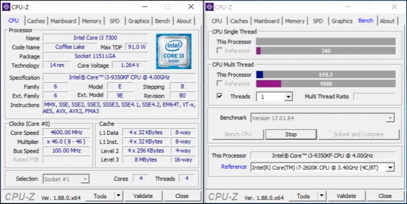 Новая статья: Обзор процессора Intel Core i3-9350KF: стыдно ли иметь четыре ядра в 2019 году