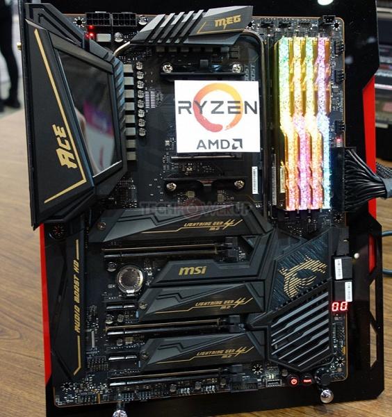 Опубликованы снимки четырех плат MSI на чипсете AMD X570