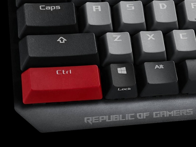 Computex 2019: клавиатура ASUS ROG Strix Scope PBT с переключателями Cherry MX