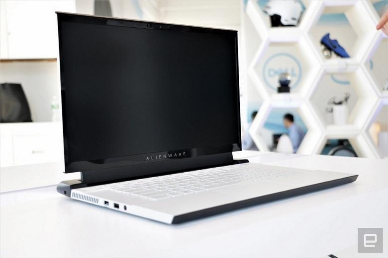 Игровые ноутбуки Alienware m15 и m17 полностью изменились внешне и стали чёрно-белыми