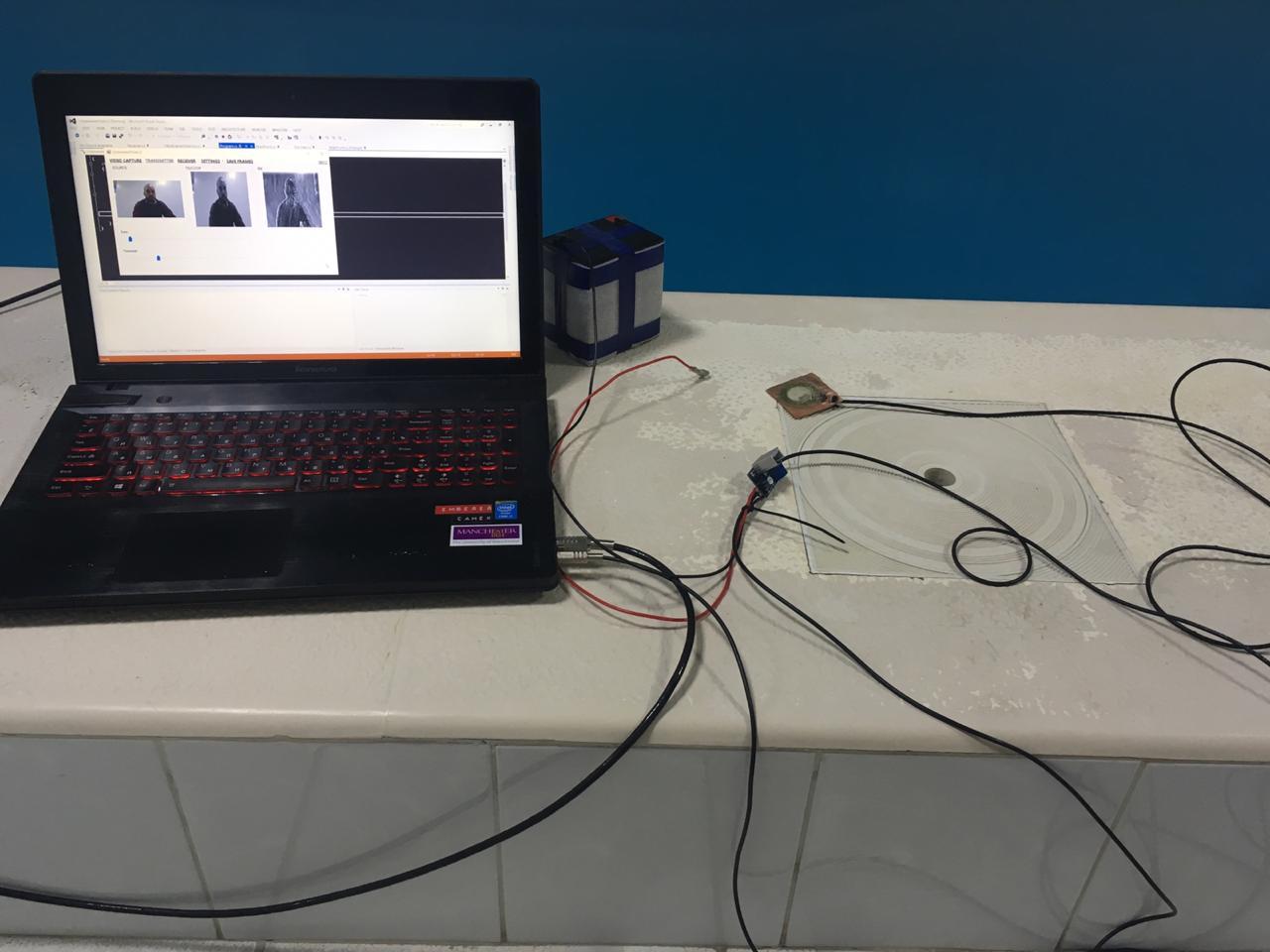 Как увидеть реверберацию или передача видео звуком через воду — 2 - 6