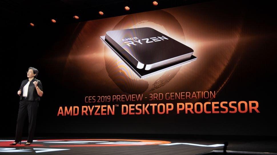Компания AMD представила свои новые пользовательские 7 нм процессоры Ryzen третьего поколения - 1