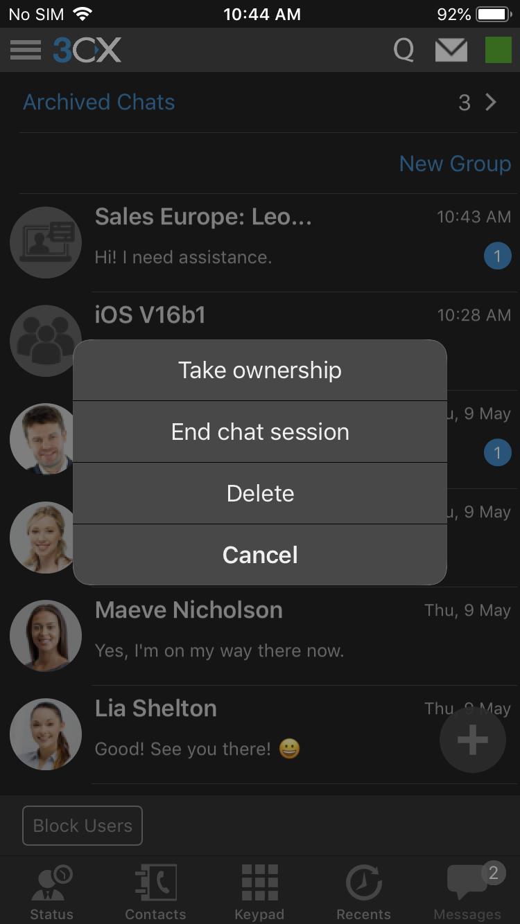 3CX v16 Update 1, приложение 3CX для iOS Beta и новая версия 3CX Call Flow Designer - 3