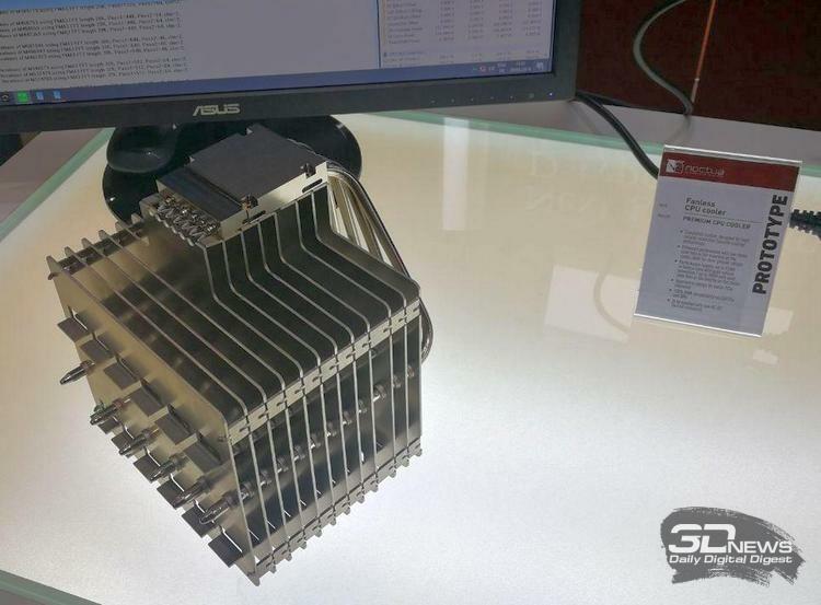 Computex 2019: Noctua показала полуторакилограммовый пассивный кулер и не только