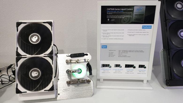 DeepCool на Computex 2019: обновленные системы жидкостного охлаждения и уже знакомые корпуса