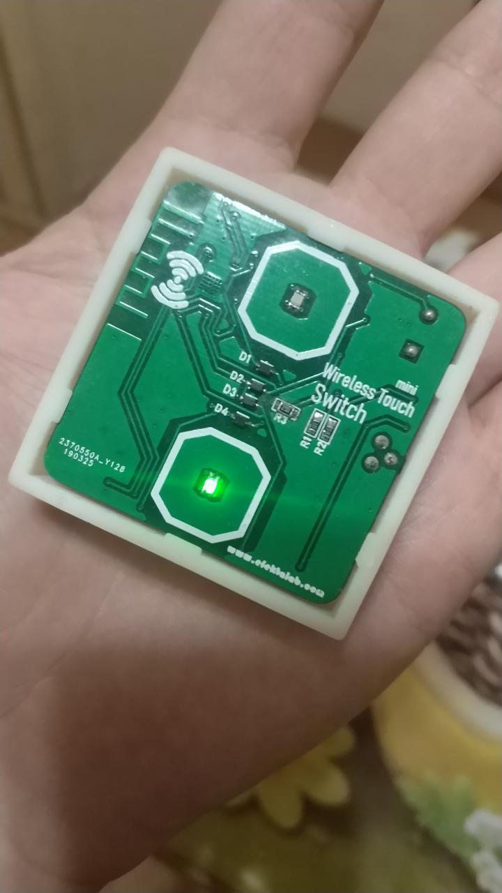 Сенсорный мини выключатель cо стеклянной панелью на nRF52832 - 11