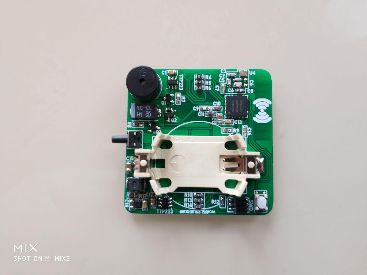 Сенсорный мини выключатель cо стеклянной панелью на nRF52832 - 4