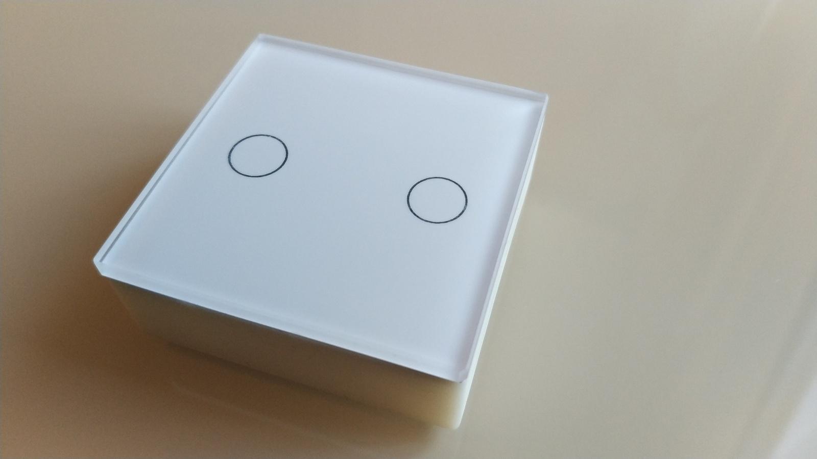 Сенсорный мини выключатель cо стеклянной панелью на nRF52832 - 6