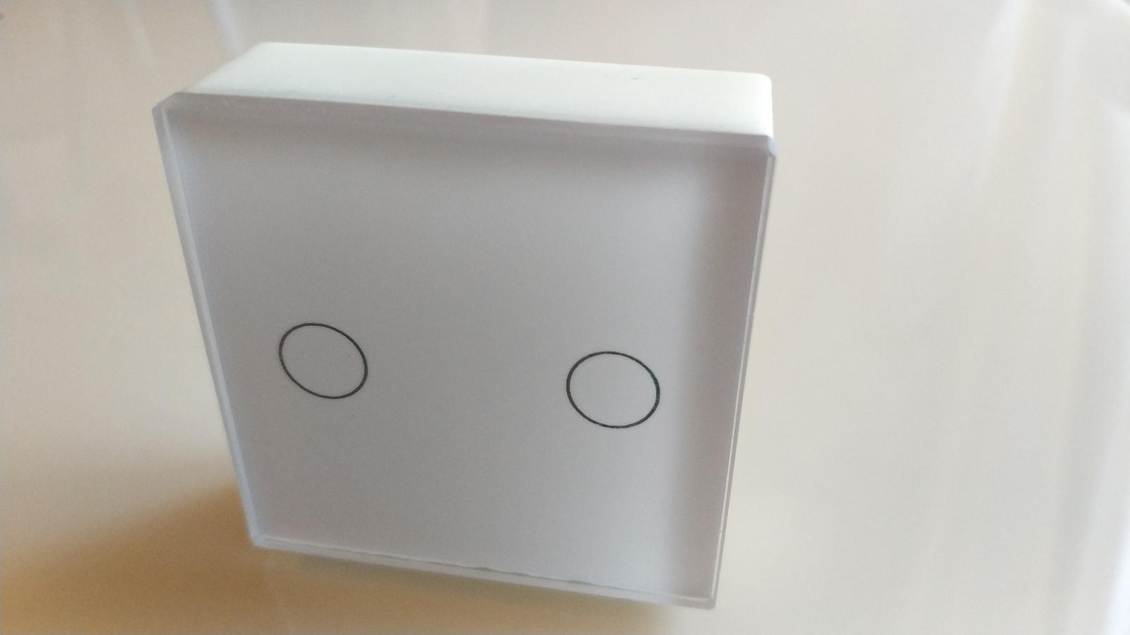 Сенсорный мини выключатель cо стеклянной панелью на nRF52832 - 7