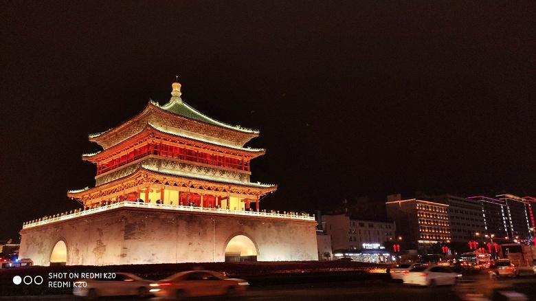 Фотогалерея дня: ночная съемка на Redmi K20