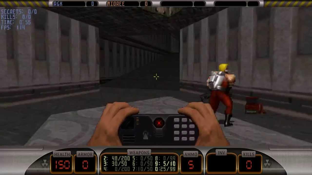 История дизайна уровней Duke Nukem (с эскизами Левелорда) - 12